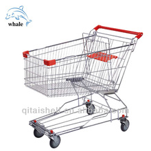 Grocery shopping trolley cart