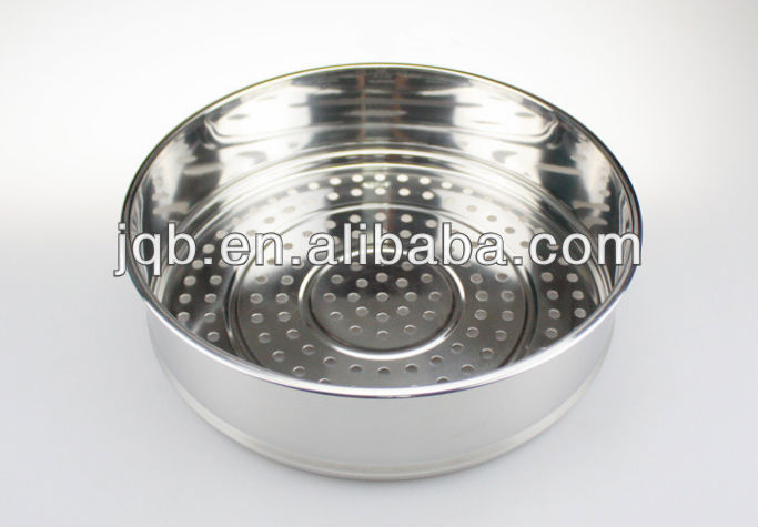 Winolaz High Quality stainless steel steamer pot (double ear)