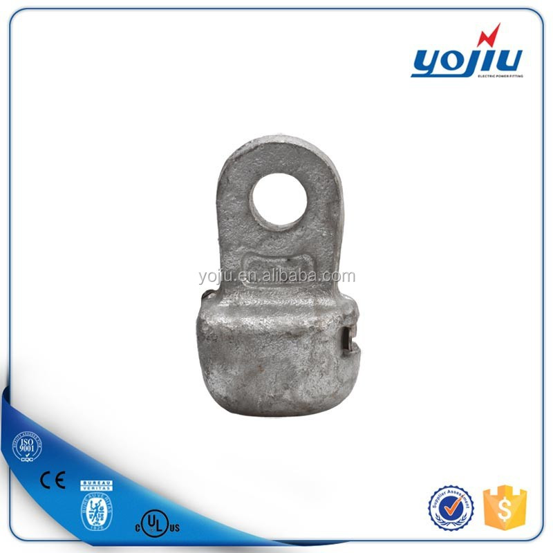 Hot sale socket clevis eye/ forged parts/ wire hardware fitting/electric power line accessories