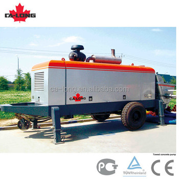 Towed Concrete Pump