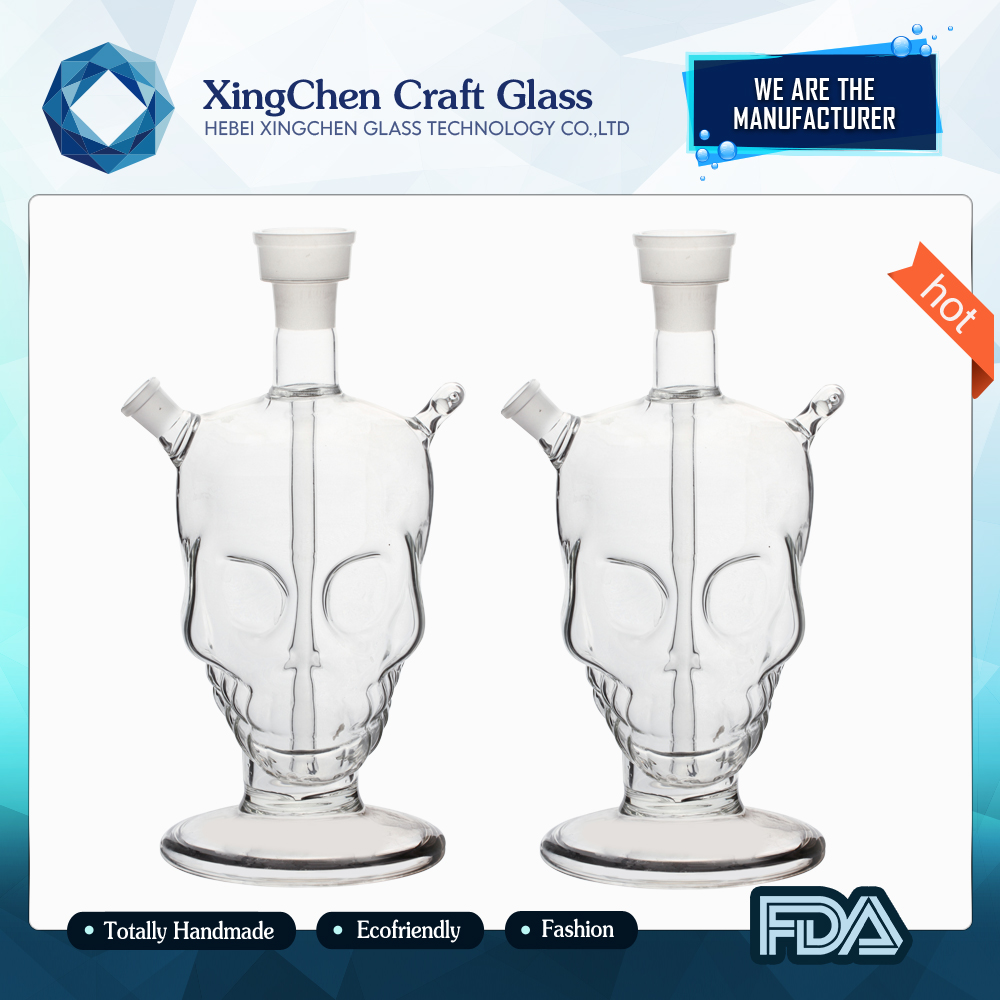 manufacture glass Eco-friendly portable e hookah shisha glass hookah shisha