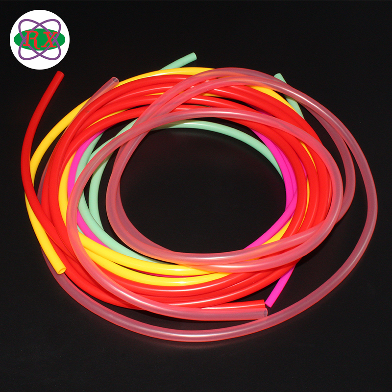 Wholesale Price Flexible 100% Platinum Medical Grade Silicone Tube Food Use 2 Inch Rubber Hose For Toy Gun