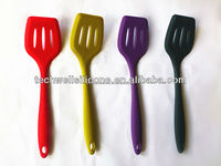 high quality silicone kitchen utensils cooking slotted turner