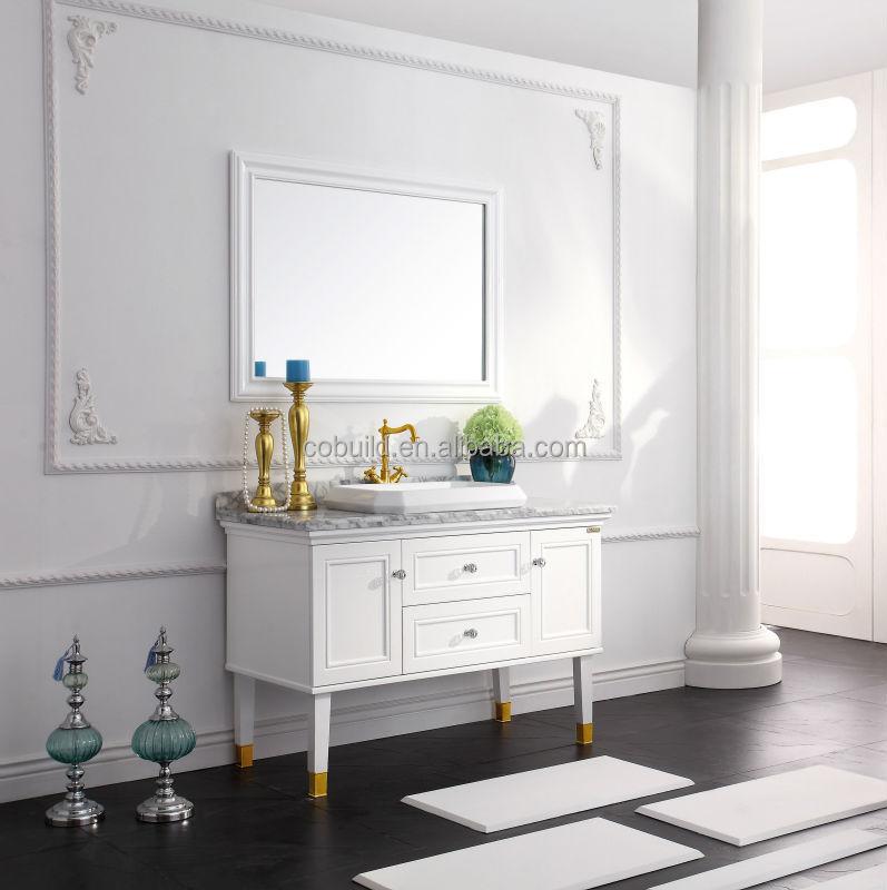 Modernes Bad Eitelkeiten/Marmor Badezimmerschrank
