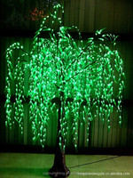 Beautiful tree light led christmas pussy willow light