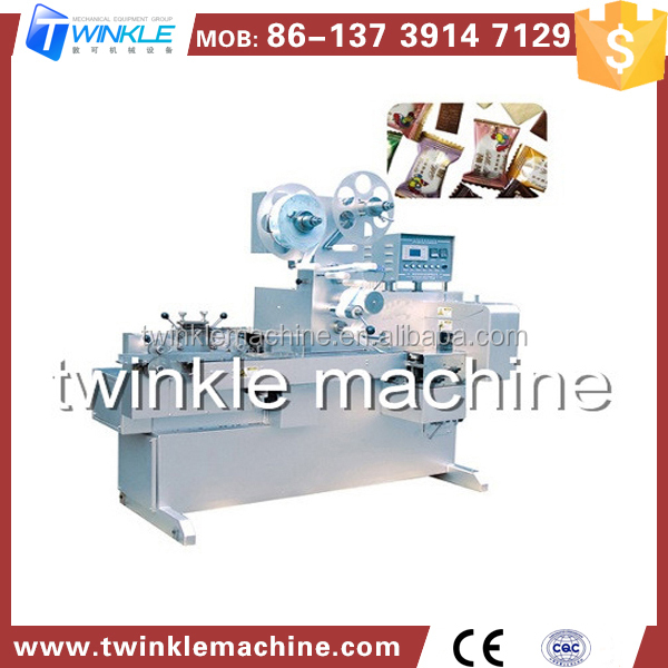 TKE901 CENTER FILLED SOFT CANDY PACKING MACHINE
