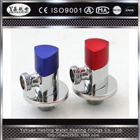 Cw617n Chrome Plated 90 Degree Brass Tap Water Toilet Angle Valve