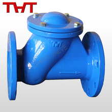 flange flap ball galvanized fitting check valve