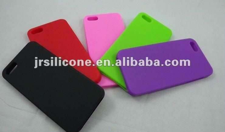 Silicone mobile case for iphone5,silicone phone case/cover/skin