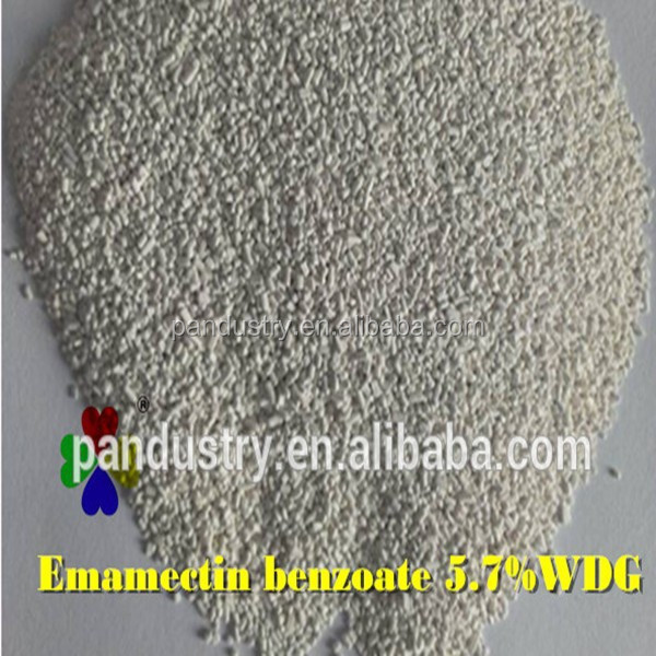 Professional supplier, Emamectin benzoate solubility 5 wdg