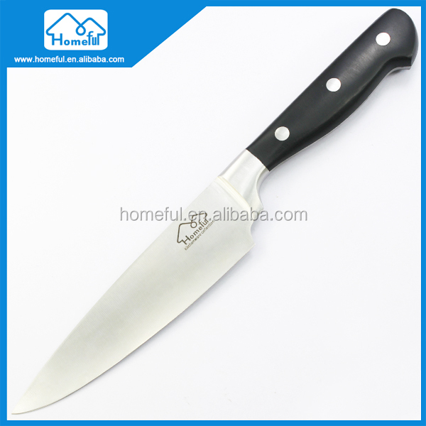 6-Inch Blade Abs-handle High-carbon Stainless Steel Chef Knife,anti-slip Multipurpose Use Kitchen Knives