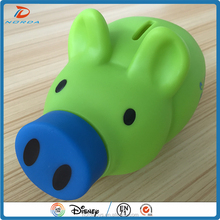 lovely pig/dog money box money saving box for kids