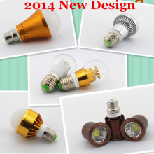 3w 5w 7w e27 e14 gu5.3 gu10 led bulb 12v mr16 led dimmable