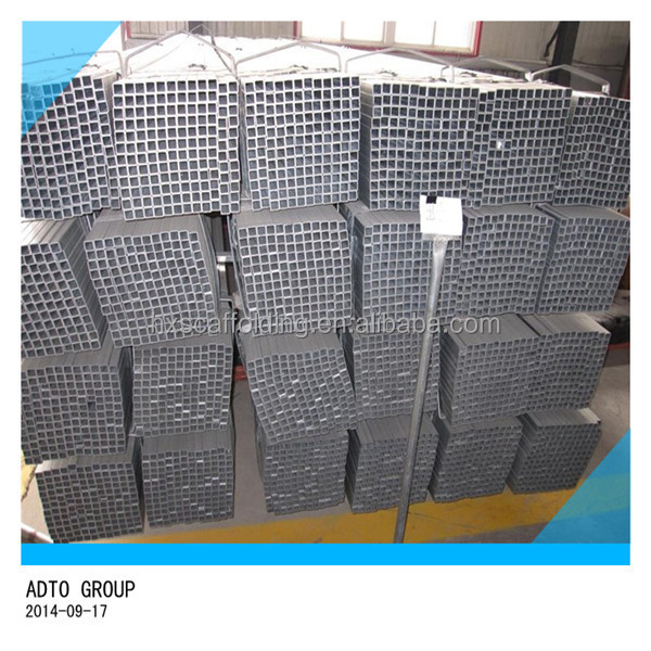 Hollow Section Steel Square Tube Material Specifications