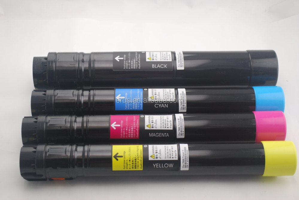 Toner cartridge for Xerox phaser 7800 BKCMY