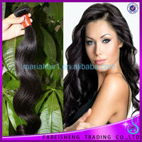 2013 Virgin 100% human hair weaving eco friendly product