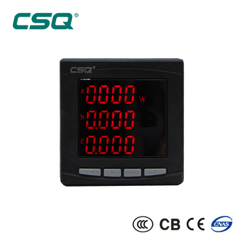 PS652P-9K4 Three Phase LED Digital Active Power Meter