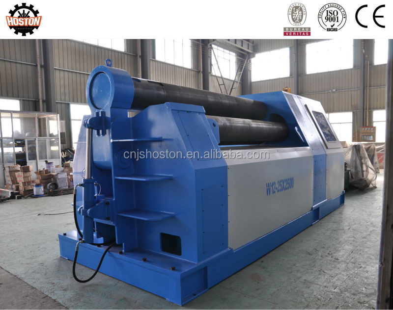 Hoston four-roller rolling machine with double pinch with competitive price