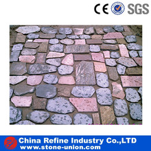 Multicolor Random slate tile, natural slate random slate for paving stone