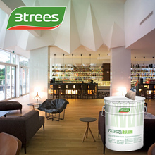 3TREES Low VOC Two Components Extra Clear Anti-Yellowing Base NC Wood Paint for Furniture