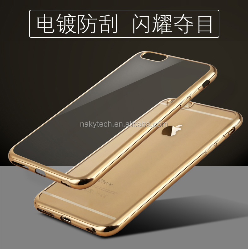 Hot Selling Fashion Electroplating Phone Case for iphone 5/se