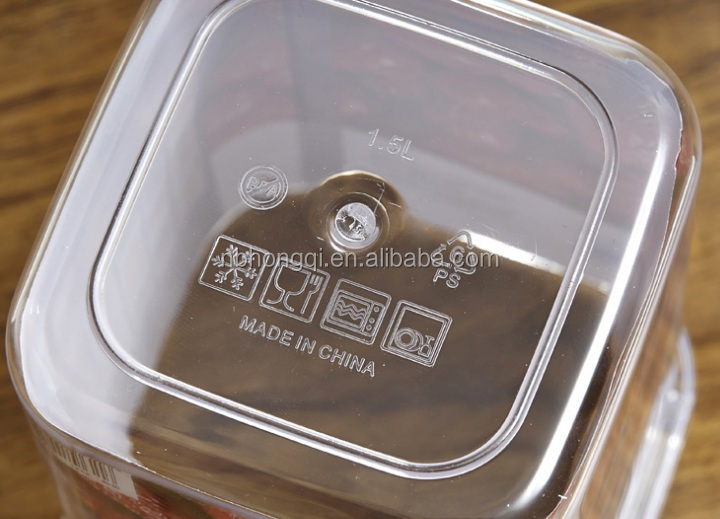 Stacks Food Canister/Sealed transparent plastic cans