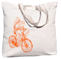 10oz light weight custom cotton grocery bag