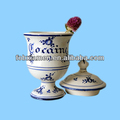 Handpaint antique ceramic large cocaine apothecary jar china