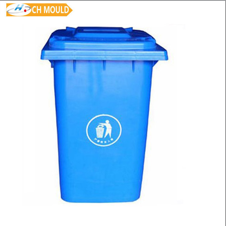 shopping mall used plastic large dustbin injection mold