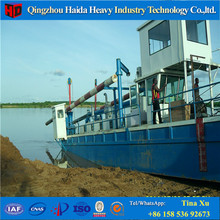 Factory Direct 6 Inch Hydraulic Suction Dredger For Desilting