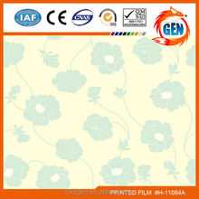 Wall paper Artistic printed plaster ceiling materials with 15-year warranty for household