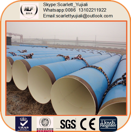 chinese tube 24inch API 5L X52 X65 FBE Coating Welded Steel Pipe large diameter corrugated steel pipe