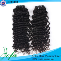 China best quality 6A brazilian virgin hair/human hair extensions