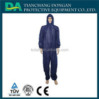 Disposable Ebola Protective Suit Coverall Overall with Hood