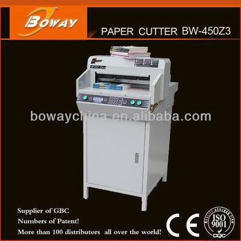 National Standard Drafter Boway 450mm Electric guillotine machine