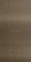 Lienchy Luxury Coffee Gold Anti-fingerprint inox stainless steel decorative sheets