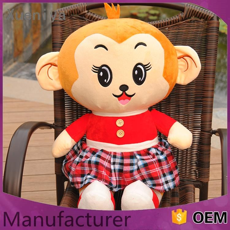 promotional hot sale personal wholesale plush small monkey