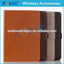 lovely economic rotating for ipad air 2 with credit card slot leather case