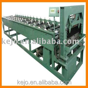 color steel roof /wall panel different profile double layer roll forming machine building materials