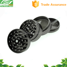 Zinc alloy 55mm 4 parts wholesale herb grinder with free customized logo