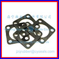 custom square rubber NBR flange