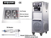 Snowman 250/250A ice cream machine soft serve