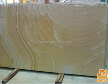 Yellow Wooden Sandstone Slab