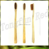 OEM customized bamboo child hotel disposable mini toothbrush