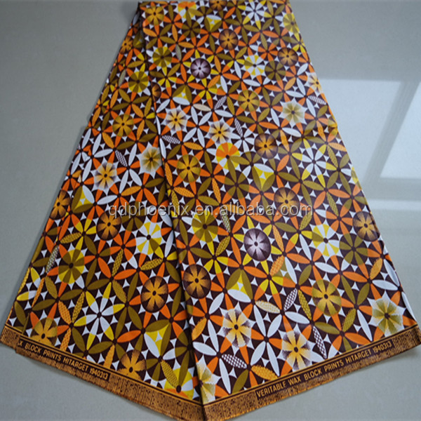 Hot Sale African Super Java Print Fabrics Hitarget Wax Print Fabrics Veritable Guaranteed Java