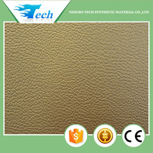 pvc vinyl fabric textured leather for sofa, auto, carseat (pvc cuero sinteticos)