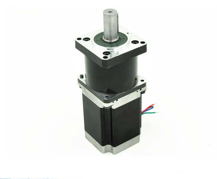 4 or 6 wires planetary gearbox nema 23 geared stepper motor