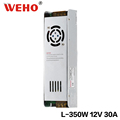 WEHO Ultra Thin smps L -350-12 12v 30A ac dc power supply 350w for led strip