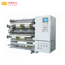 China Factory Supplier Fully automatic plastic film roll slitting welding machine