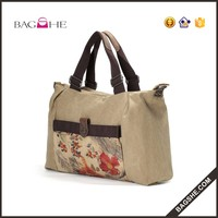 Printed Canvas Wholesale Canvas Tote Bag Beach Bag Funny Shopping Bag